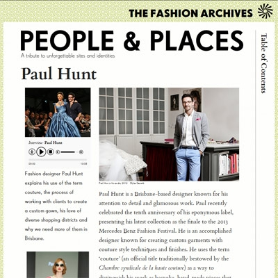 The Fashion Archives